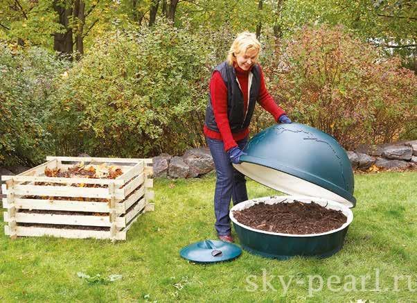 делаем компостную яму