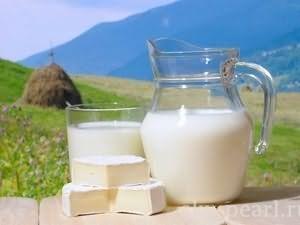 молоко и брынза