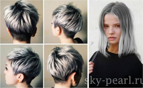 грязный цвет волос