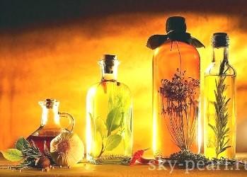 масла из натуральных растений