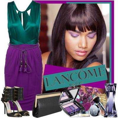 сочетания с фиолетовым цветом