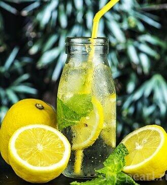 детокс лимонад
