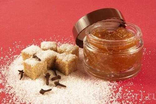 сахарный скраб